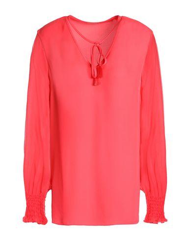 Купить Женскую блузку  кораллового цвета