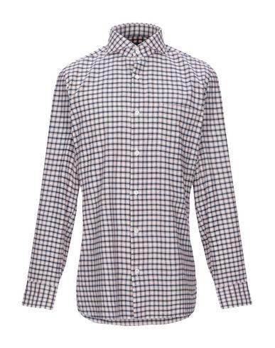 Купить Pубашка от GIAMPAOLO синего цвета