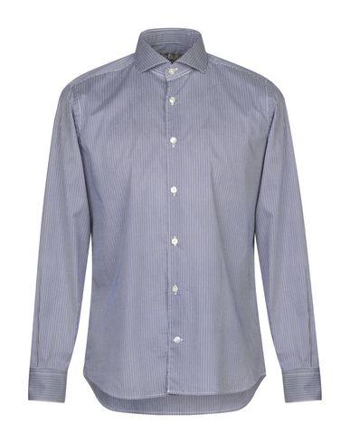 Купить Pубашка от DOMENICO TAGLIENTE синего цвета