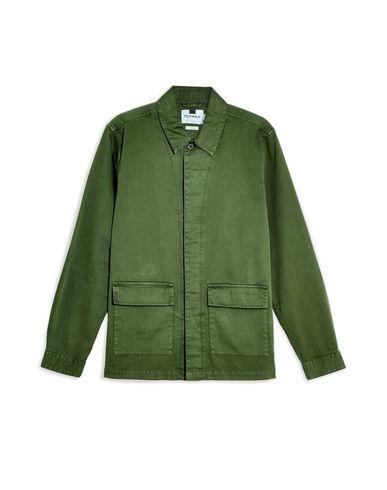 Купить Pубашка цвет зеленый-милитари