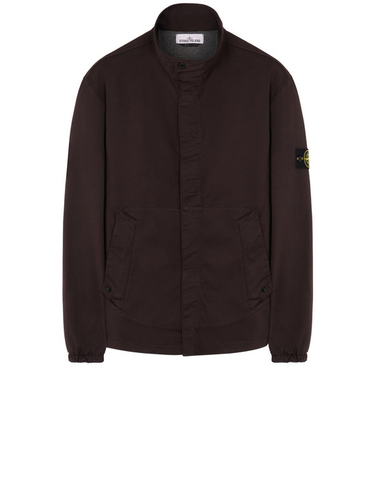 STONE ISLAND 12015 OVER SHIRT Man Dark Brown