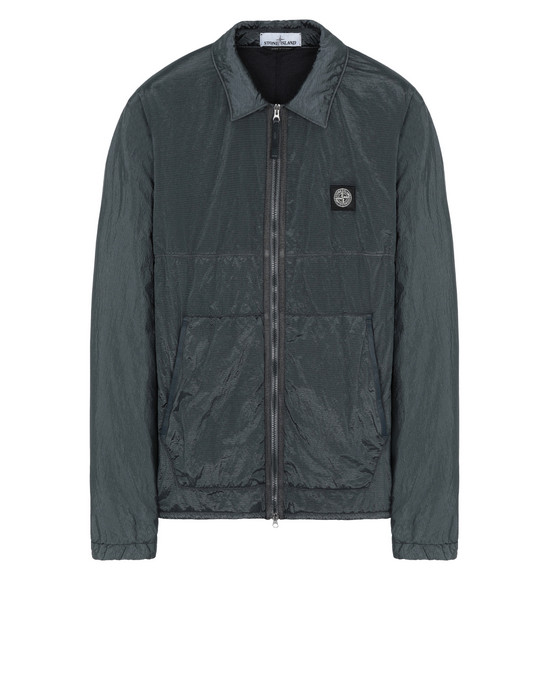 STONE ISLAND 11036 NYLON METAL RIPSTOP + RETE ISOLANTE-TC OVER SHIRT Man Dark Grey