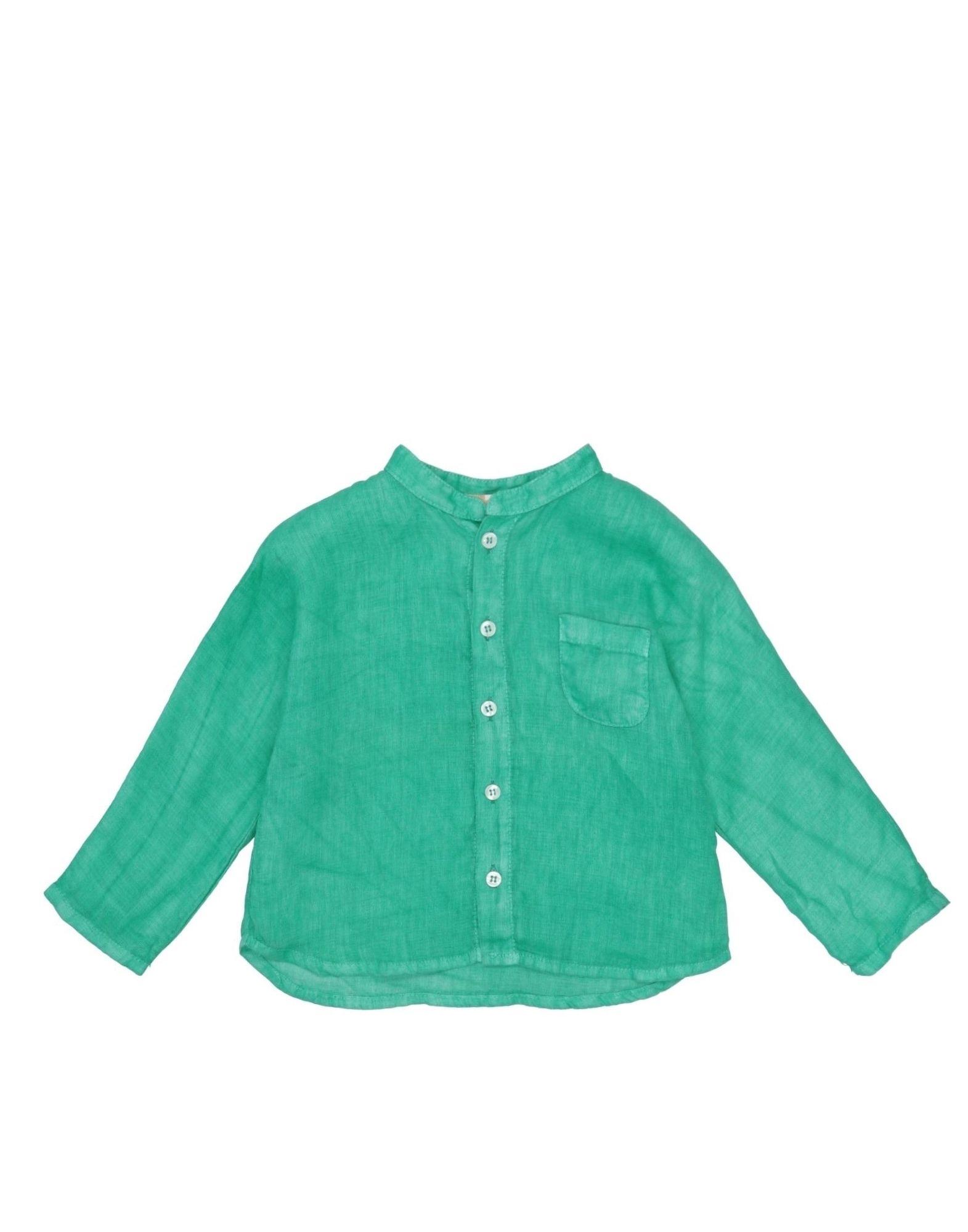 Muffin & Co. Kids' Shirts In Green
