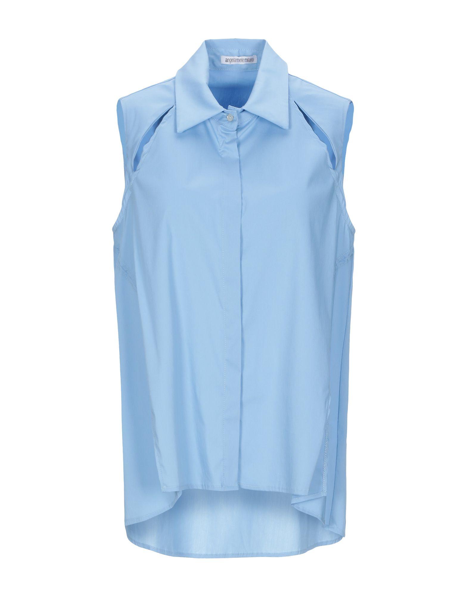 ANGELA MELE MILANO Pубашка white 5 milano pубашка