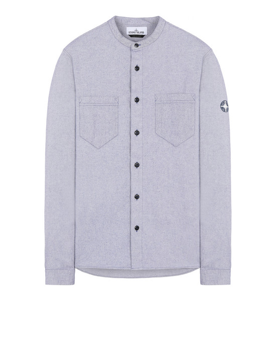 STONE ISLAND 11305 Long sleeve shirt Man Blue