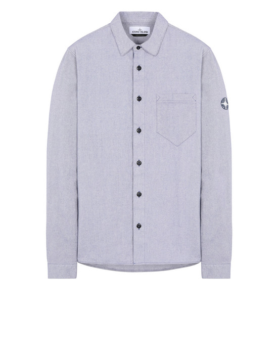 STONE ISLAND 12505 Long sleeve shirt Man Blue