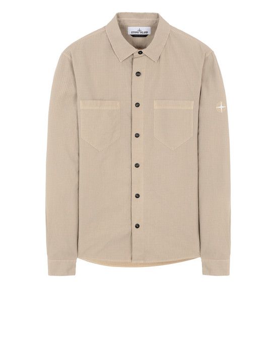 STONE ISLAND 11206 Long sleeve shirt Man Sand