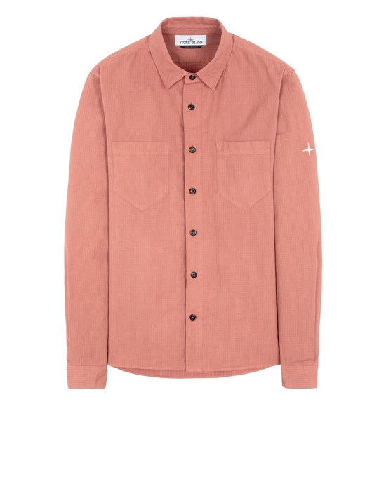 STONE ISLAND 11206 Long sleeve shirt Man Rust
