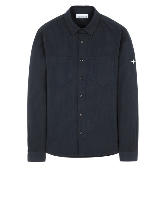 STONE ISLAND 11206 Long sleeve shirt Man Blue