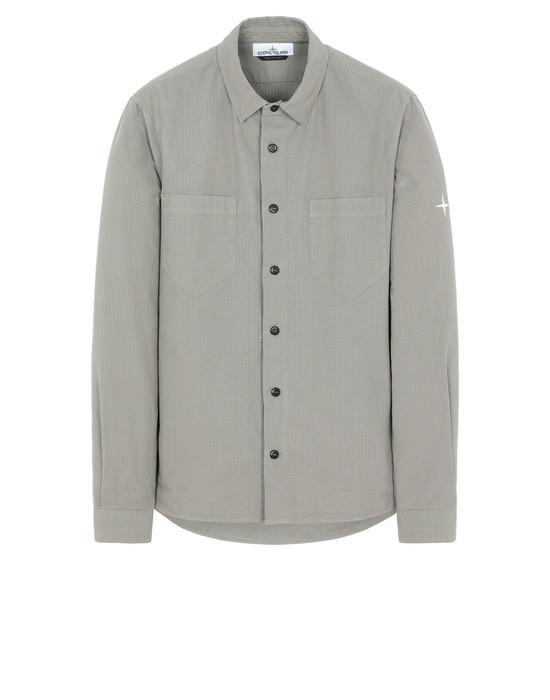 STONE ISLAND 11206  Long sleeve shirt Man Mud