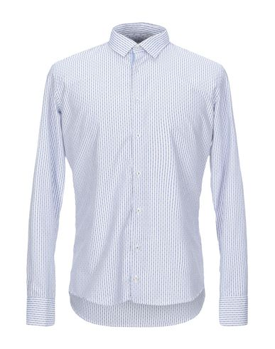 Купить Pубашка от INDIVIDUAL синего цвета