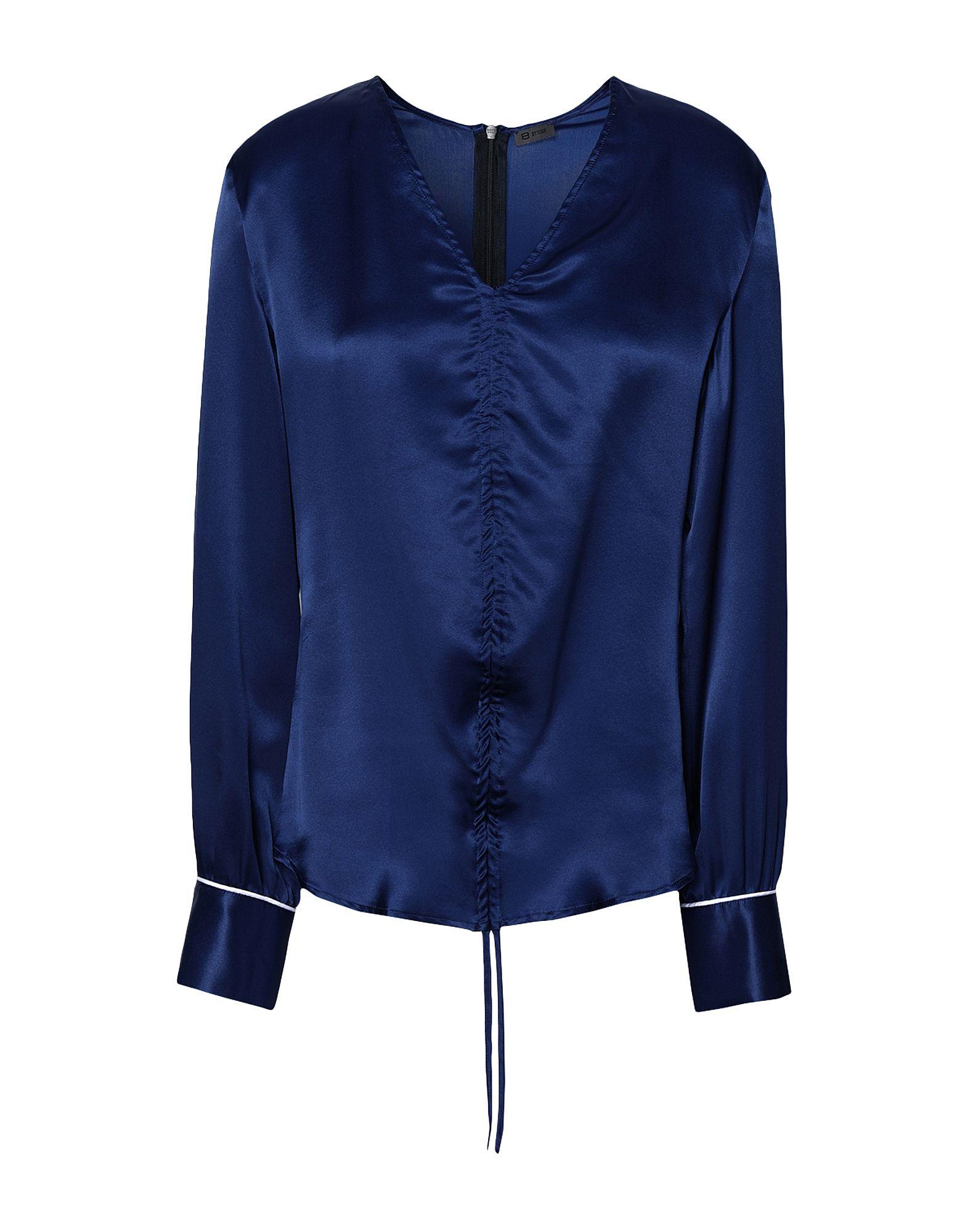 8 by YOOX Блузка блузка lime блузка с завязками