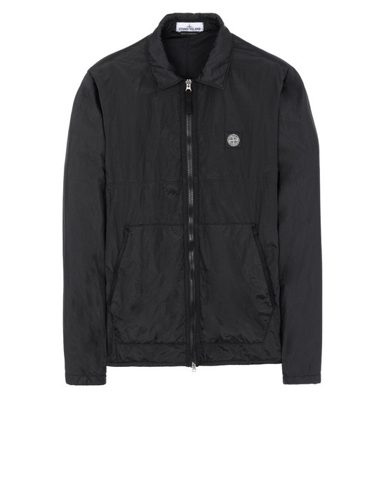 STONE ISLAND 11036 NYLON METAL RIPSTOP + RETE ISOLANTE-TC OVER SHIRT Man Black