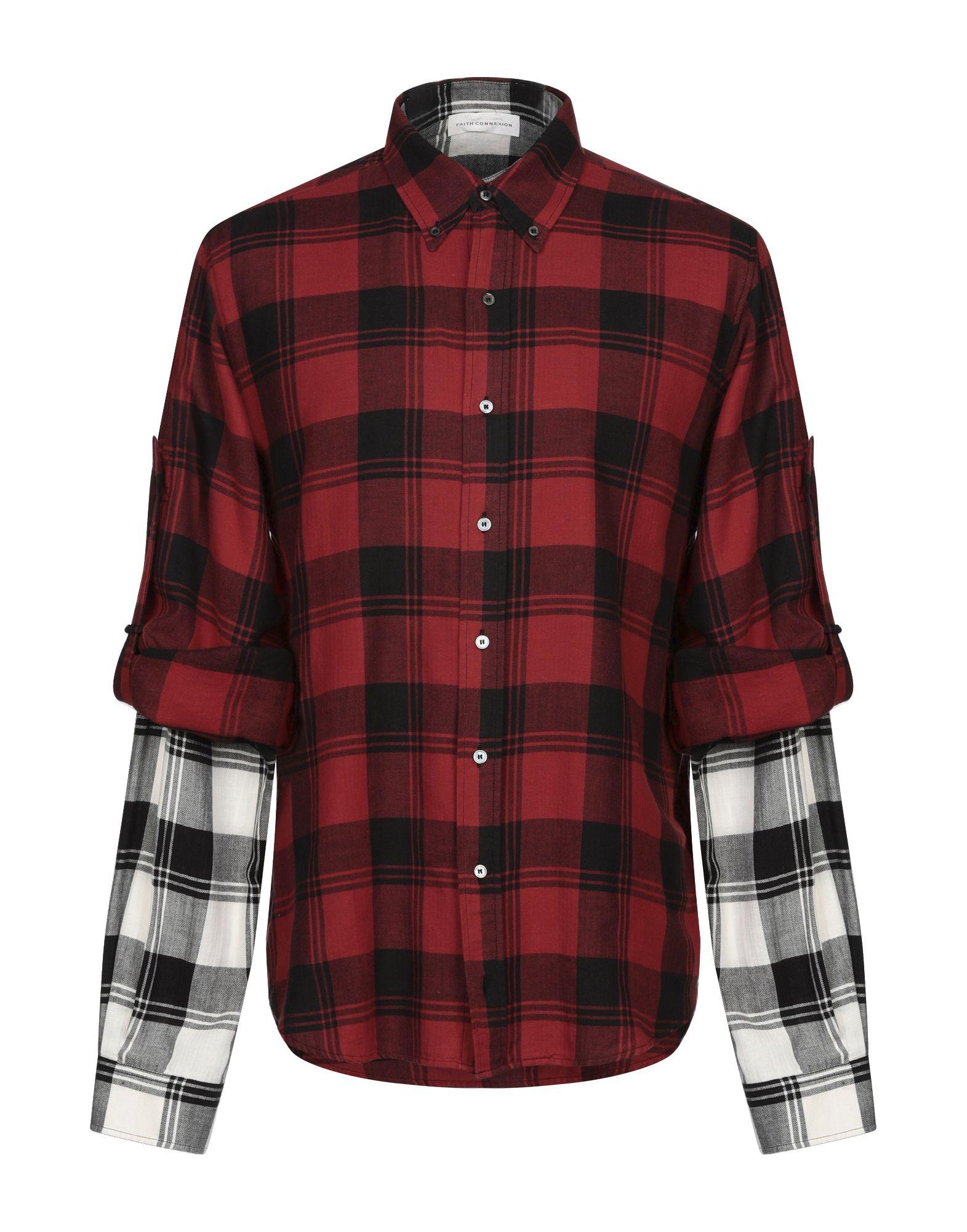 Рубашка красная в черную клетку картинки