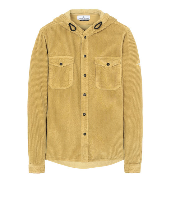 STONE ISLAND 10209 Long sleeve shirt Man Mustard