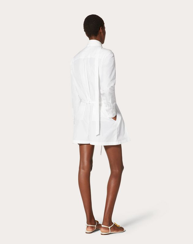 Technical Poplin Playsuit