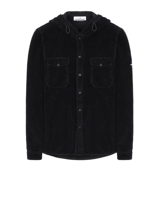 STONE ISLAND 10209 Long sleeve shirt Man Black