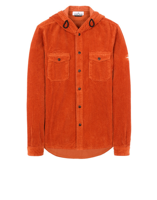 STONE ISLAND 10209 Long sleeve shirt Man Orange
