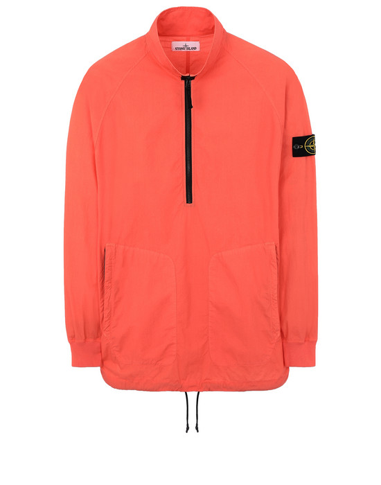 STONE ISLAND 10810 OVER SHIRT Man Lobster Red