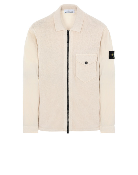 STONE ISLAND 101DD OVER SHIRT Man Beige