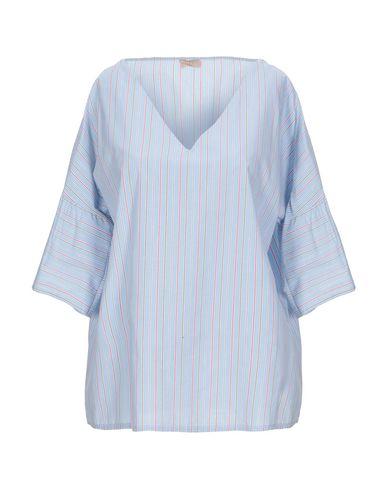 Фото - Женскую блузку EMMA небесно-голубого цвета