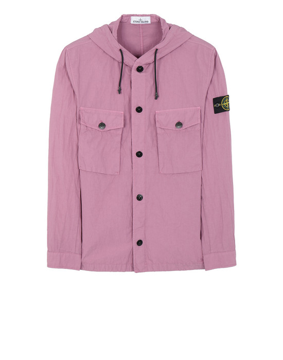 STONE ISLAND 12408 OVER SHIRT Man Pink Quartz