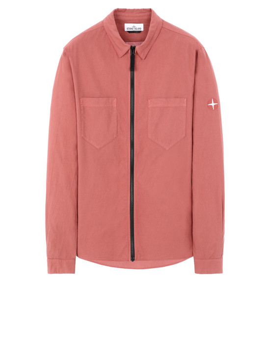 STONE ISLAND 12403 Long sleeve shirt Man Rust