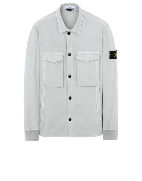 "OVER SHIRT 13002""OLD""DYE TREATMENT STONE ISLAND - 0"