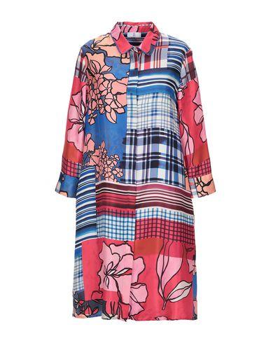 Купить Женское короткое платье SFIZIO синего цвета