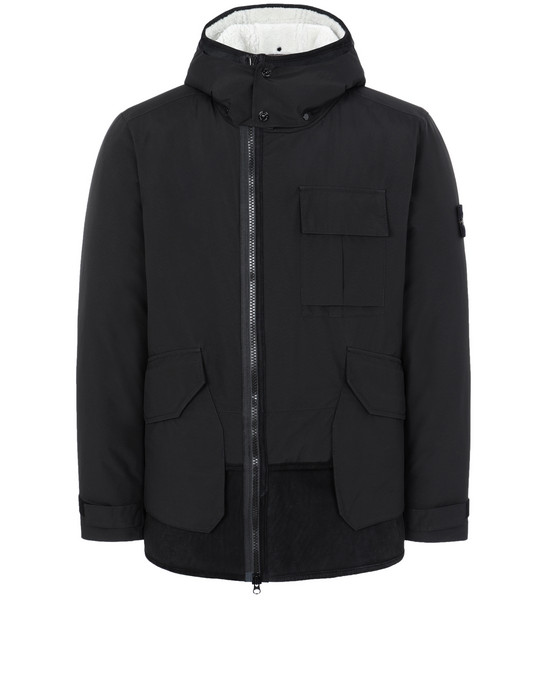 Jacke 41430 GORE-TEX INFINIUM™ WITH SHEEPSKIN_PRIMALOFT® INSULATION STONE ISLAND - 0