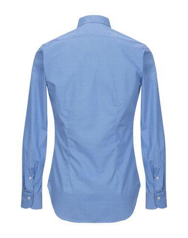 Фото 2 - Pубашка от ANDREA ZENI лазурного цвета
