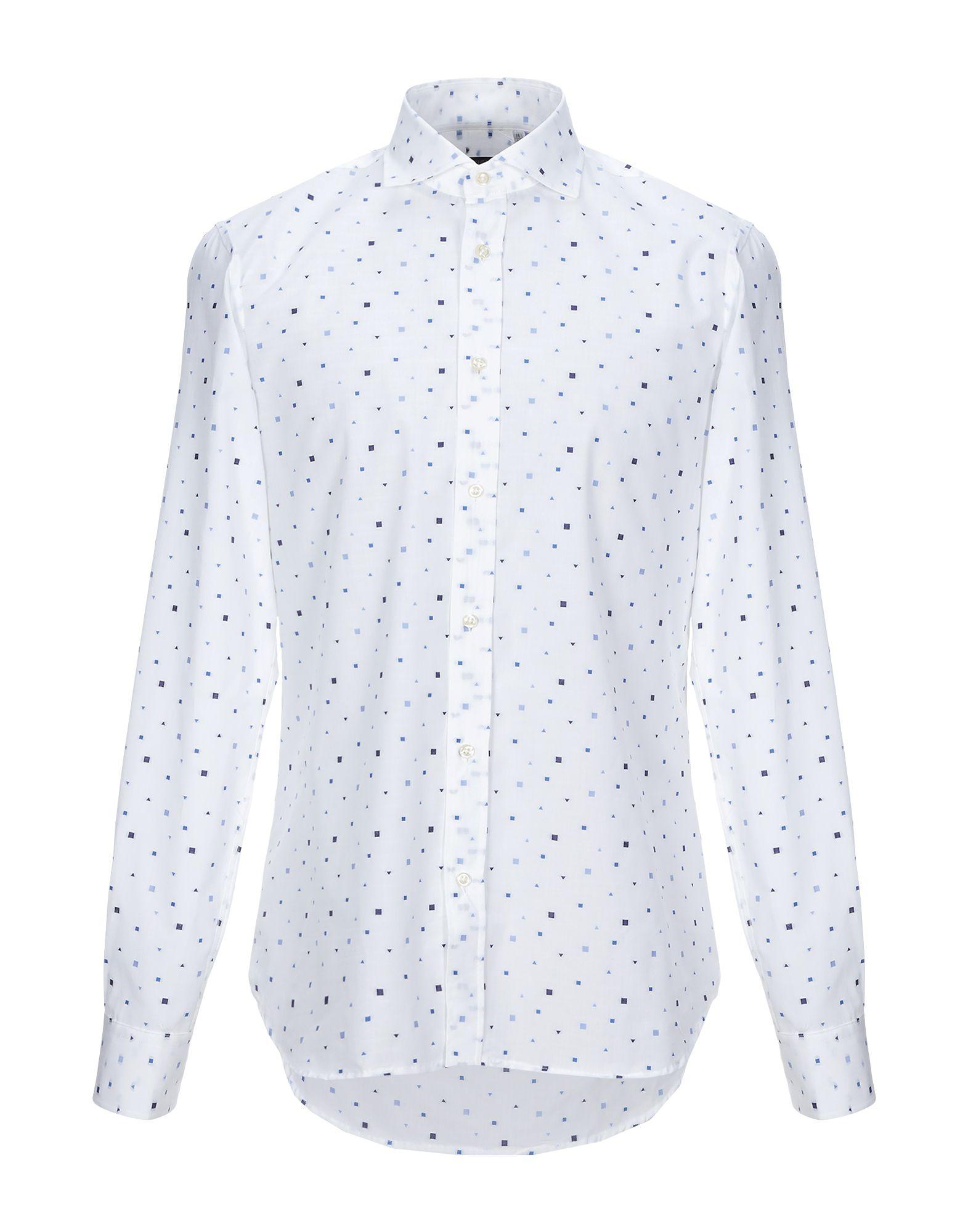 《セール開催中》AVIGNON メンズ シャツ ホワイト 41 コットン 100%