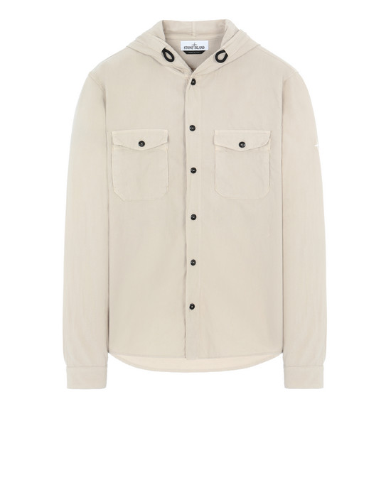 STONE ISLAND 10203 Long sleeve shirt Man Sand