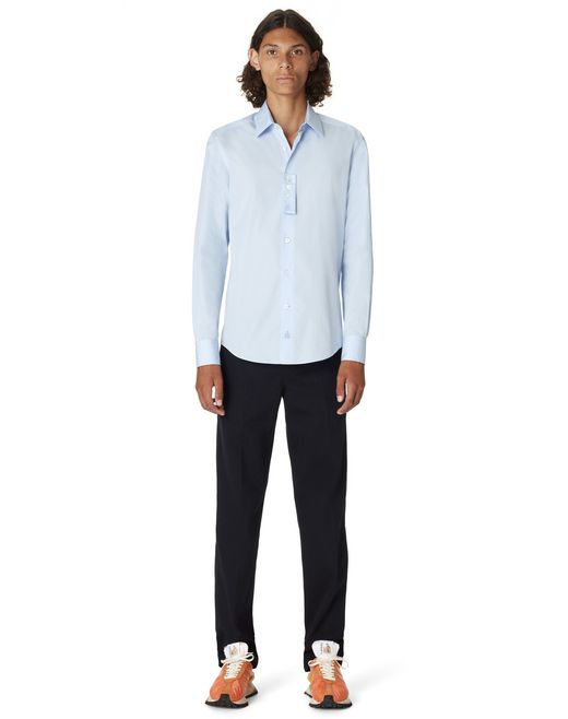 FITTED COTTON SHIRT - Lanvin