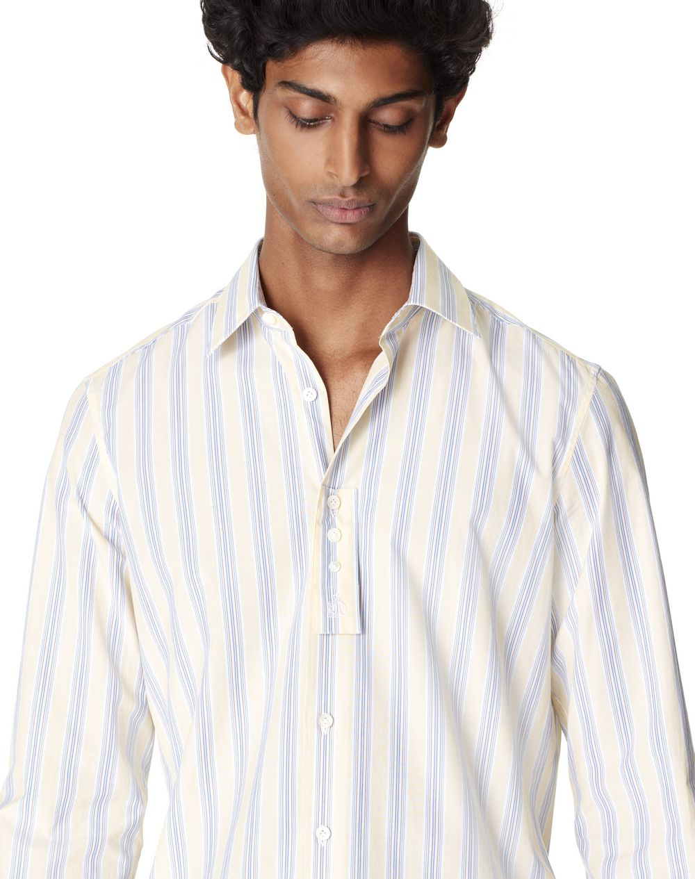 FITTED STRIPED SHIRT - Lanvin