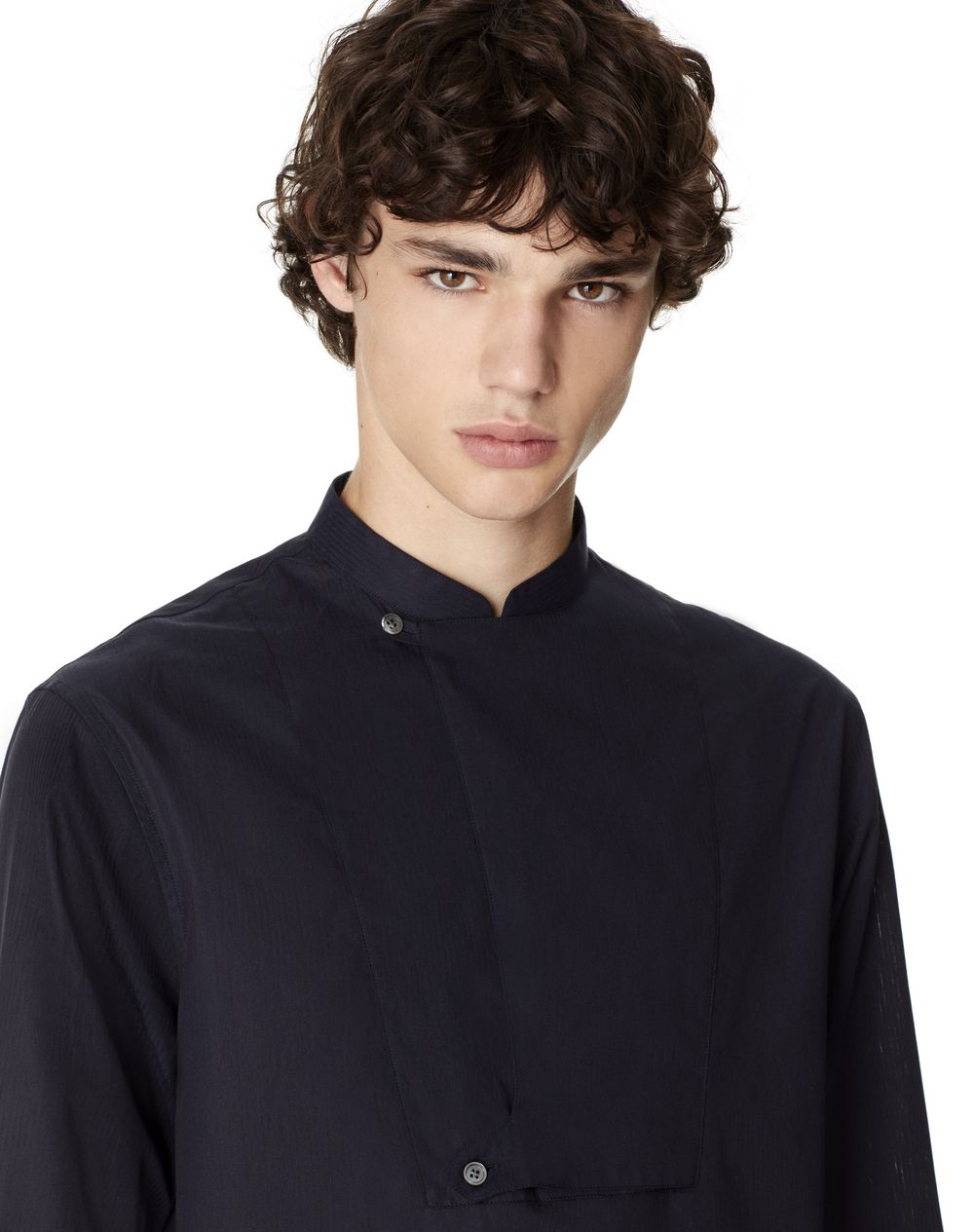 THIN-STRIPED STRAIGHT-FIT SHIRT - Lanvin