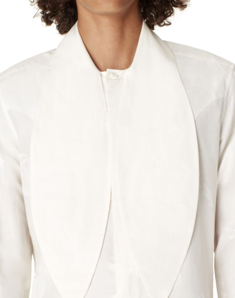 FITTED SHIRT WITH SCARF COLLAR - Lanvin