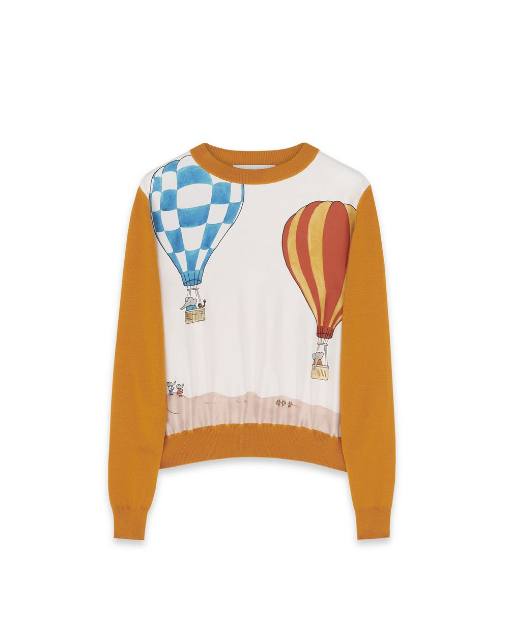 BABAR PRINTED SWEATER - Lanvin