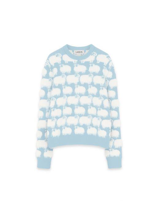モチーフ入り ウール製セーター  - Lanvin