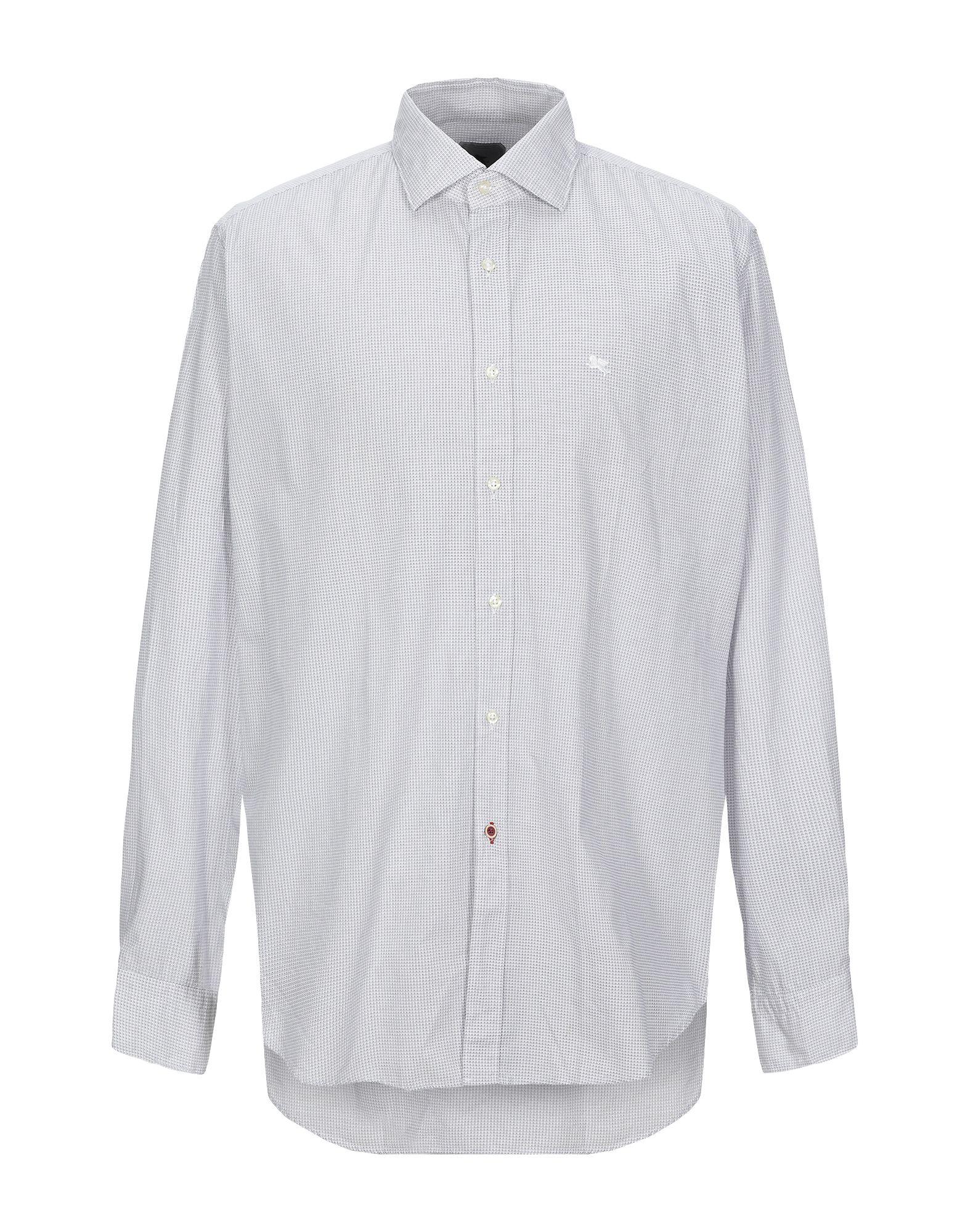 《セール開催中》PAL ZILERI CONCEPT メンズ シャツ ホワイト 39 コットン 100%