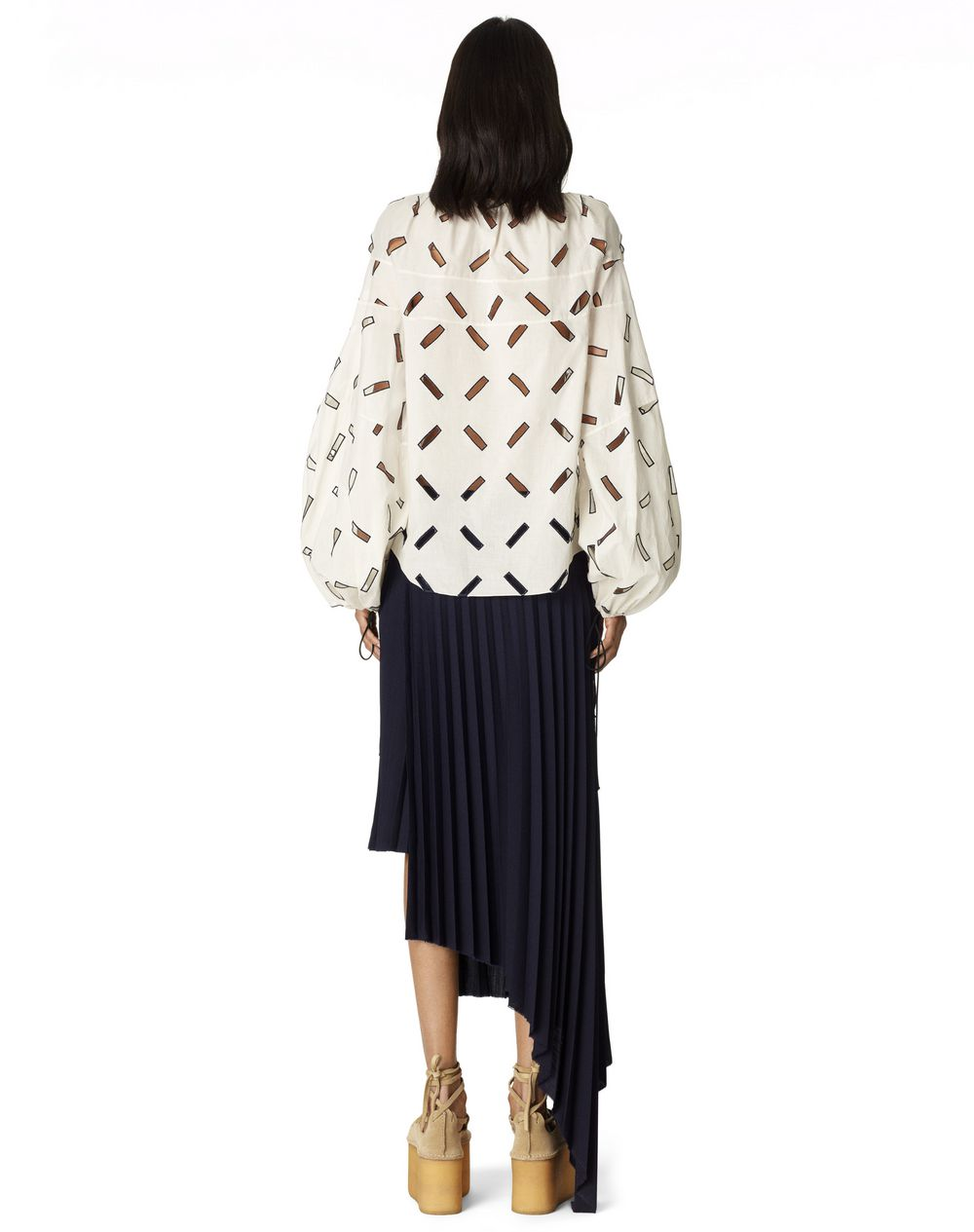CUT-OUT HEART BLOUSE - Lanvin