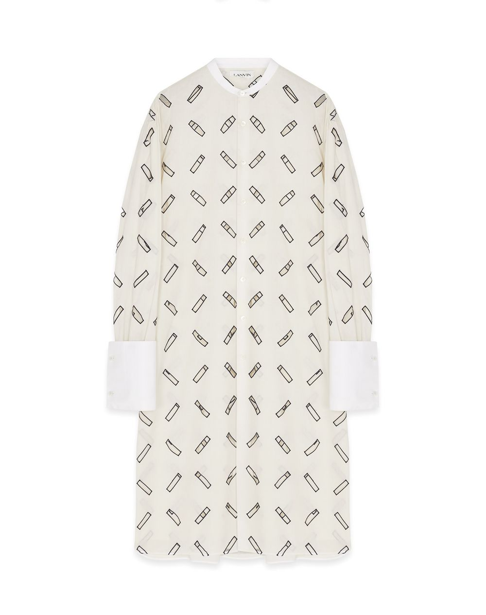 CUT-OUT SHIRT DRESS - Lanvin