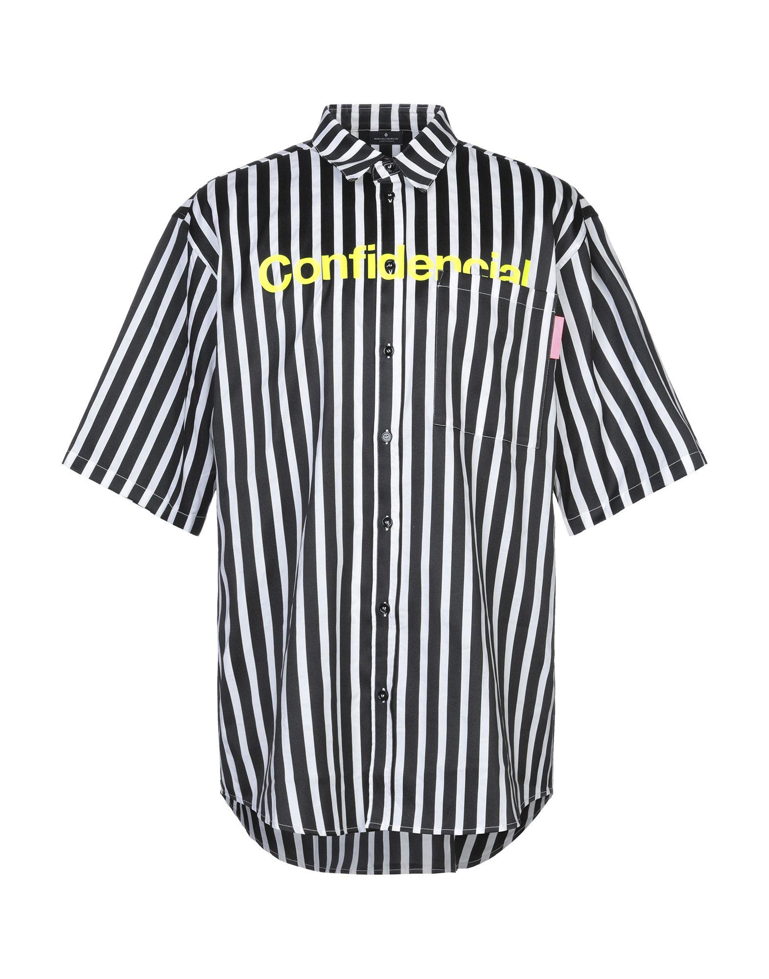 MARCELO BURLON Pубашка marcelo burlon pубашка