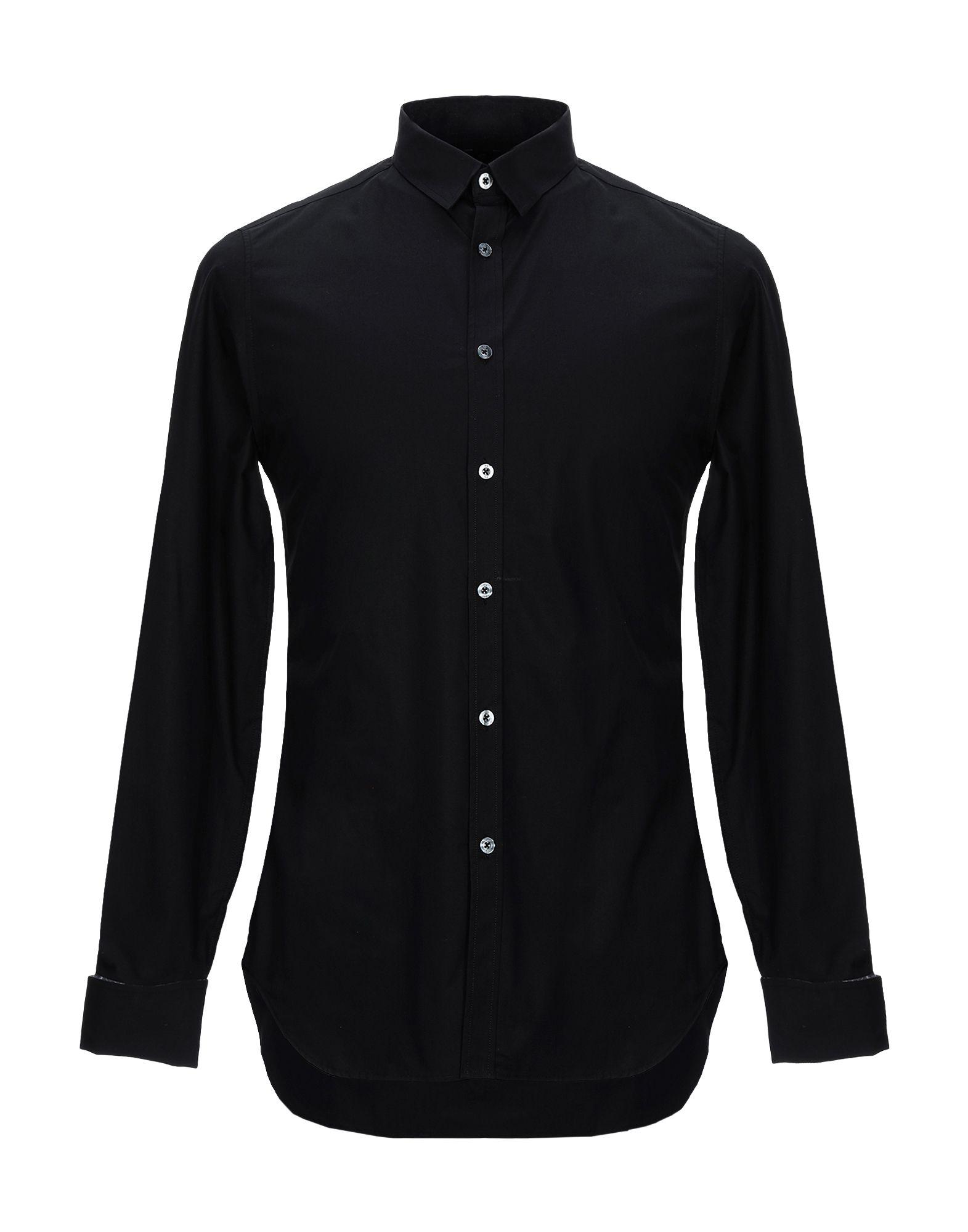 《セール開催中》PS PAUL SMITH メンズ シャツ ブラック S コットン 100%