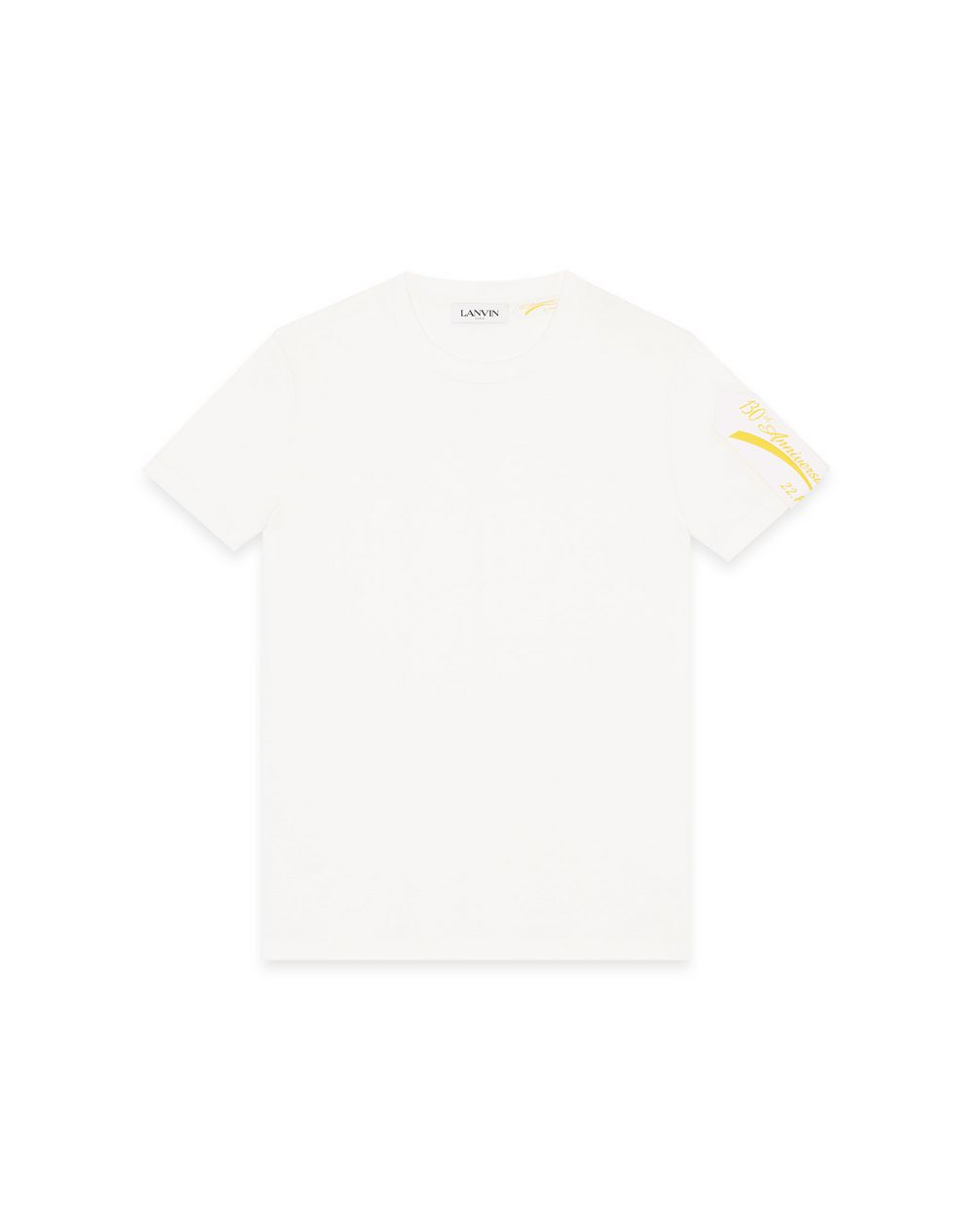 130 YEARS LANVIN LABEL PRINT T-SHIRT - Lanvin