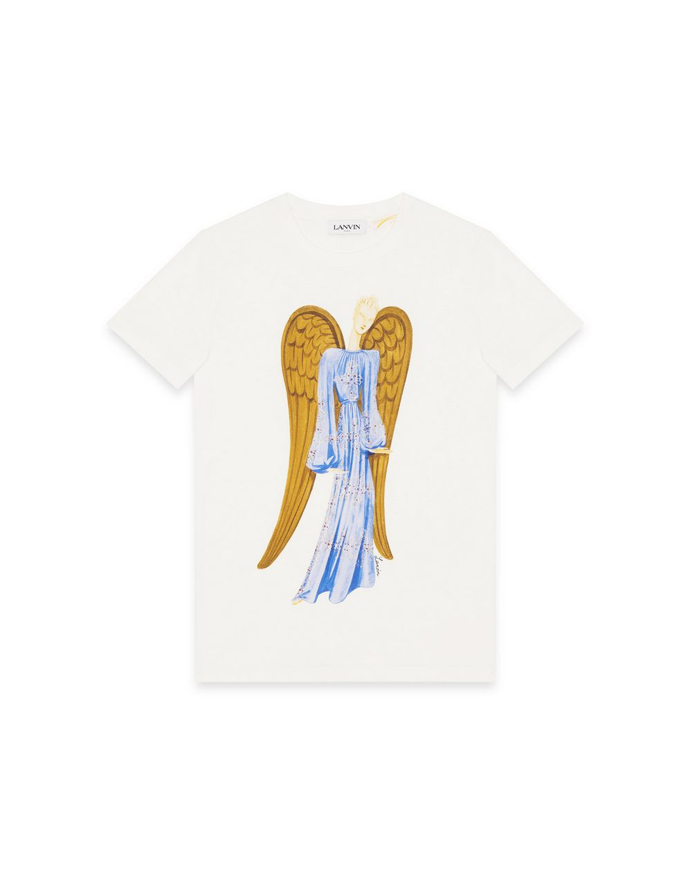 130 YEARS THE ANGEL PRINT T-SHIRT - Lanvin