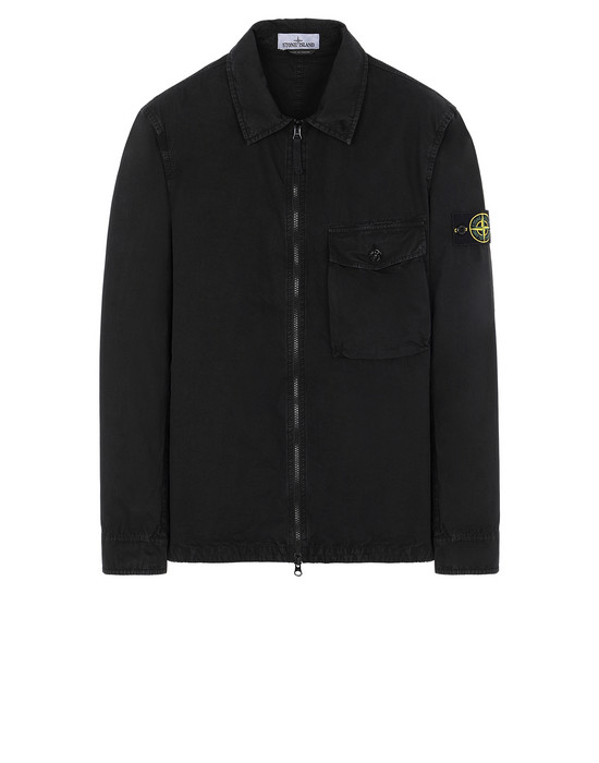 STONE ISLAND 114WN T.CO+OLD КУРТКА-РУБАШКА Для Мужчин Черный