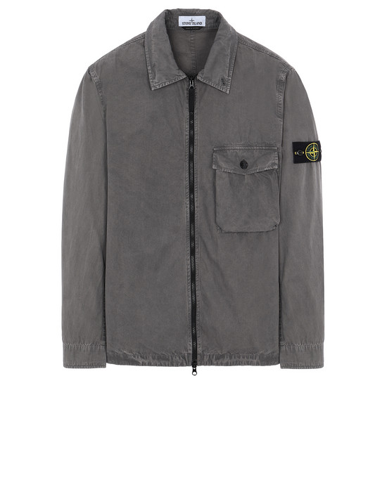 STONE ISLAND 114WN T.CO+OLD SURCHEMISE Homme Bleu gris