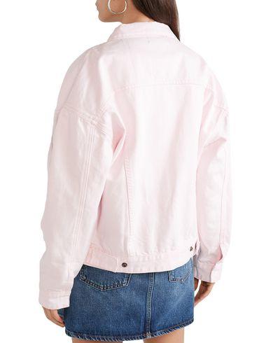 Фото 2 - Pубашка от DOUBLE RAINBOUU светло-розового цвета