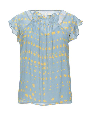 Фото - Женскую блузку KORALLINE лазурного цвета